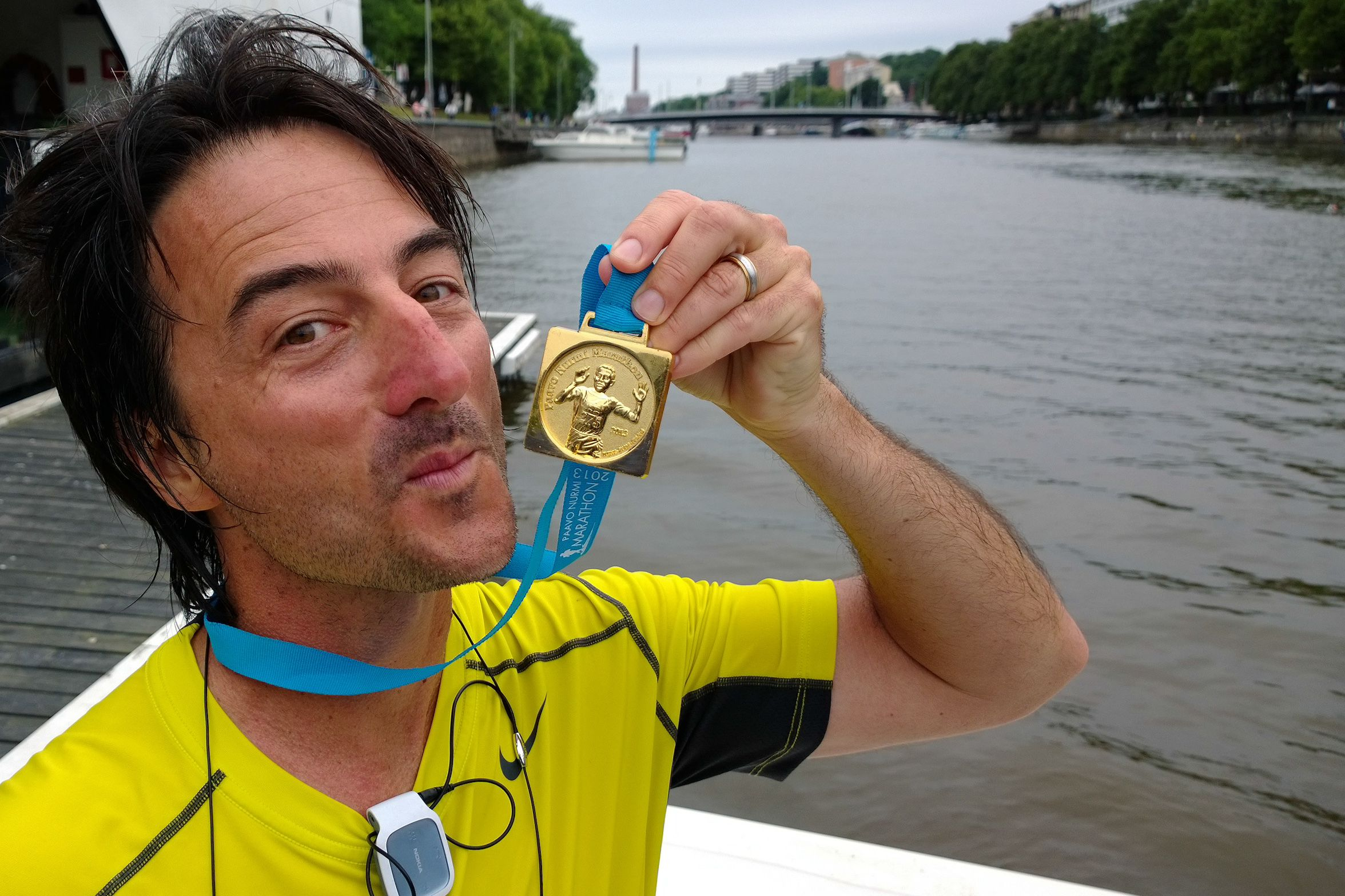 DONE! 3rd Marathon in 3 Countries in 6 months! WOO HOO!